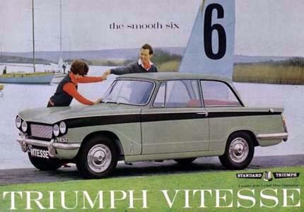 Triumph Vitesse onderdelen