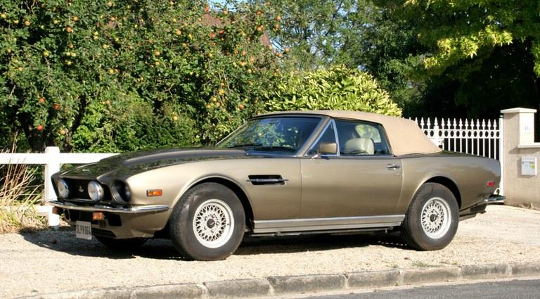 Onderdelen voor uw Aston Martin