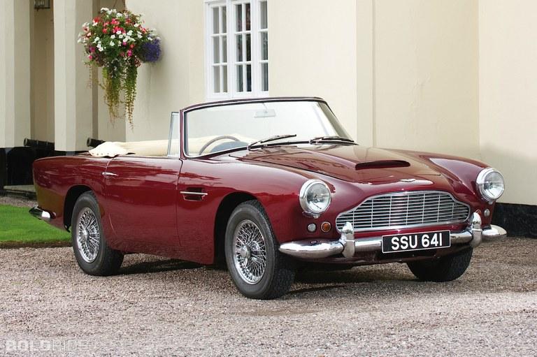 Onderdelen voor uw klassiek Aston Martin